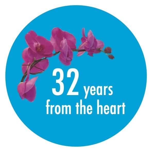 Logo 32 years